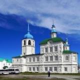Божественная литургия в Посольском монастыре
