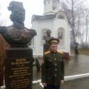 У памятника знаменитому Платову
