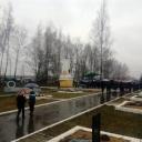 Люди, идущие на открытие Межрегиональной «вахты Памяти»